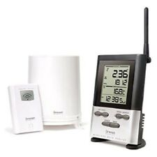 Rain Gauge Weather Station Wireless with Outdoor Temperature Ten Day Memory