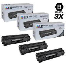LD © Comp Replacements HP 85A CE285A 3pk Blk M1132 M1212 M1217 P1102 P1102