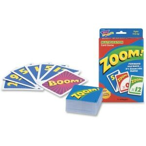Trend Enterprises Trend Zoom Math Card Game, Ages 9 And Up