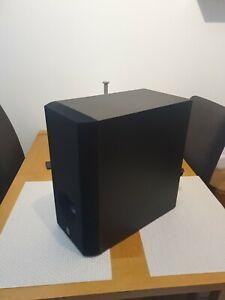 Yamaha SW-P201 Speaker ACTIV  Subwoofer Used. Black. Powerful Subwoofer