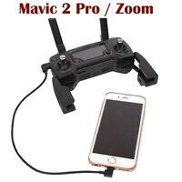 Dji Mavic 2 Pro / Zoom...Remote Control Cable..Short...Micro USB to Iphone