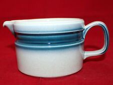 Wedgwood Blue Pacific Creamer Made in England Retro Oven to Table Vintage (B)