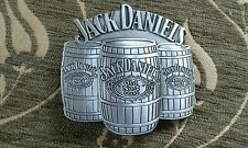 BRAND NEW Jack Daniels  Metal Belt Buckle -UK Seller (Silver)
