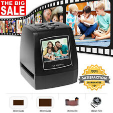 35mm 135mm Film & Slide Scanner Converter Photo Digital JPEG Image Viewer LCD