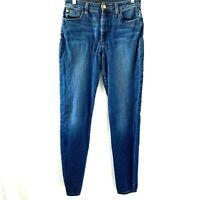 Joes Flawless The Charlie Hi Rise Skinny Medium Wash Blue Jeans Size 28