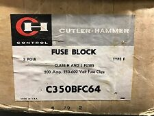 Cutler Hammer C350BFC64 Fuse Block ** New In Box, Free Shipping **