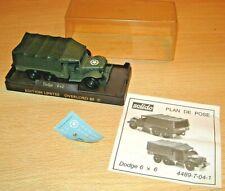 Solido DODGE 6x6 Military Truck MIB Overlord 89