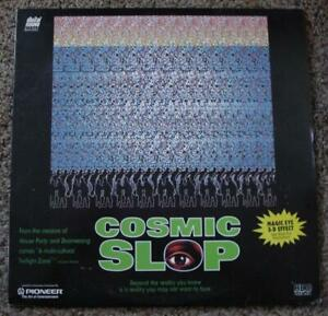 COSMIC SLOP LASERDISC (NOT DVD) GEORGE CLINTON HBO 1994 RATED R SUPER RARE! EXC