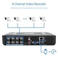 4/8CH 1080P ONVIF 5in1 AHD CVI TVI DVR NVR Security CCTV Video Recorder HDMI VGA