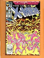 THE UNCANNY X-MEN #226 Fall of the Mutants VF to VF+