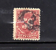 #J67   50 CENT  POSTAGE DUE   FANCY CANCEL   USED     a