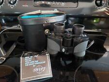 Vintage Binoculars w/Case - Swift Nighthawk Mod #771 - 8x40 Extra Wide