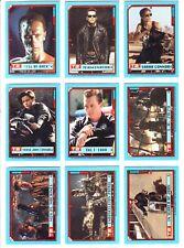 TERMINATOR 2 . STICKER CARD SET PLUS EXTRAS. TOPPS 1991 .