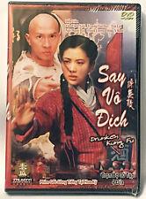 SAY VO DICH Druken Kung Fu Phim Bo Hong Kong Tau 4 DVDs Chinese Movie Vietnamese