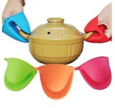 Silicone Burn Protection Half Gloves Pot Holder Heat resistant Oven Grab Mitt