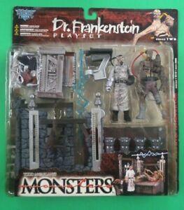 Todd McFarlane's Monsters DR. FRANKENSTEIN PLAYSET, 1998, MIP