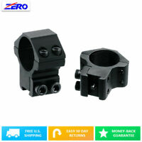 2pcs 30mm High Scope Mount Rings dovetail Rail 11mm Rifle Saddle Height 21mm