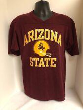 VTG Champion Arizona State University ASU Football Maroon Jersey Mens Sz LARGE