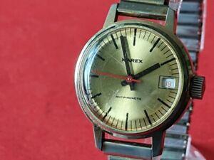 Kleine Herren Armbanduhr Karex Handaufzug aus den 60´er Jahren !!!