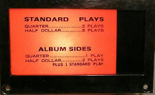 ROWE MM4 Jukebox Part:  working LIGHTED INFORMATION BOX w/ JACK - graphic #2