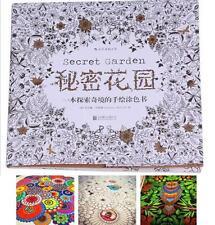 New Colouring Book Hunt Secret Garden:by Johanna Basford Decompress Xmas Gift