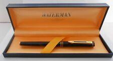 Waterman Ideal Fountain Pen Fine Pointe 18K Gold Nib Paris In Original Box