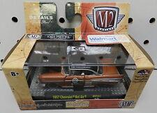 1957 57 BEL AIR WALMART RACE CAR BRONZE 16-33 1/64 CHEVY M2