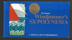 Nevis 1980 Boats Booklet UMM SG 53/4