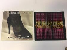 Rolling Stones 45 RPM Record Picture Sleeve ONLY Start Me Up Emotional Rescue 2