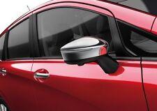 NISSAN Genuine nota E12 SPECCHIO Caps-Chrome door WING copre ke9603v000