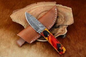 MH KNIVES CUSTOM HANDMADE DAMASCUS STEEL FULL TANG HUNTING/SKINNER KNIFE MH-352X