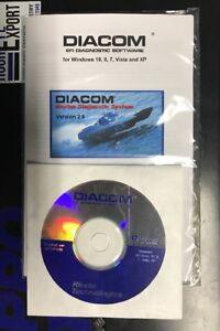 Diacom Marine Mercruiser Volvo Diagnose PC 3.x Rinda incl. CAN Marine Diagnostic