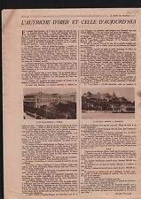 Imperial Palace in Vienna & Budapest Austria Hungary Hongrie 1919 ILLUSTRATION