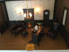 Doll House Miniature Accessories desk with inlaid and dragon feet ++++++