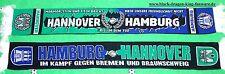 """Hamburg Hannover Schal """"MARMOR STEIN UN EISEN"""" HH Fan Elbe Ultra Kurve +neu+"""
