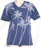 A|X Armani Exchange Men's Multi Striped Palm Tree Tee 3ZZTBM ZJH4Z Size XL, NWT