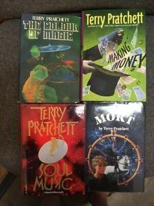 Lot 4 Terry Pratchett Discworld All Bookclub Hardcovers
