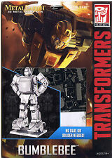 Metal Earth Transformers BUMBLEBEE 3D Puzzle Micro Model