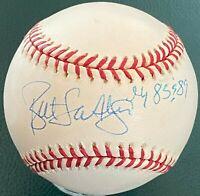 BRETT SABERHAGEN Autographed Signed Insc Baseball KC Royals Palm Beach Autograph