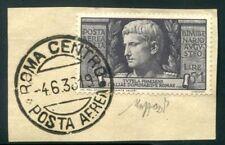 Francobolli del Regno d'Italia dal 1920 al 1943 usati