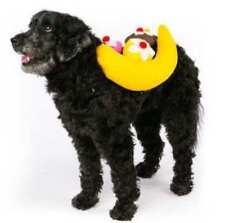NWT Banana Split Stuffed Dog Costume Size S/M Small Medium Halloween