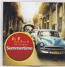 Ali B feat Brace-Summertime promo cd single
