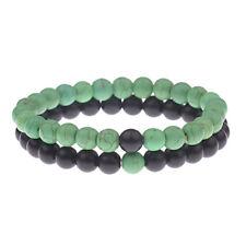Distance Chakra Bracelet For Men Women 2Pcs/Set Natural Stone Beaded Bracelets