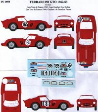 decal 1/43 FERRARI 250 GTO '62 Ch.5111GT RENAISSANCE DU285B