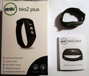 NEW STRIIV BIO2 PLUS ACCTIVITY TRACKER W/CONTINUOUS HEART RATE - OPEN BOX