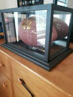 2012 Pre-season Ravens Signed Football, With Case - Wilson