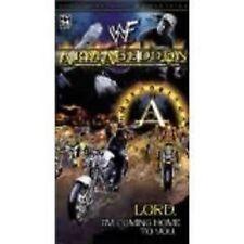ARMAGEDDON 2000 wwf vhs wrestling BRAND NEW FACTORY SEALED