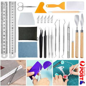 18/22X Vinyl Weeding Tool Set For Silhouettes Cameos Lettering Cutting Splicing