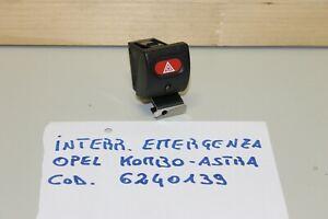 OPEL ASTRA INTERRUTTORE EMERGENZA 6240139