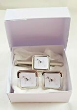 More details for lakeland terrier cuff links tie clip slide by curiosity crafts